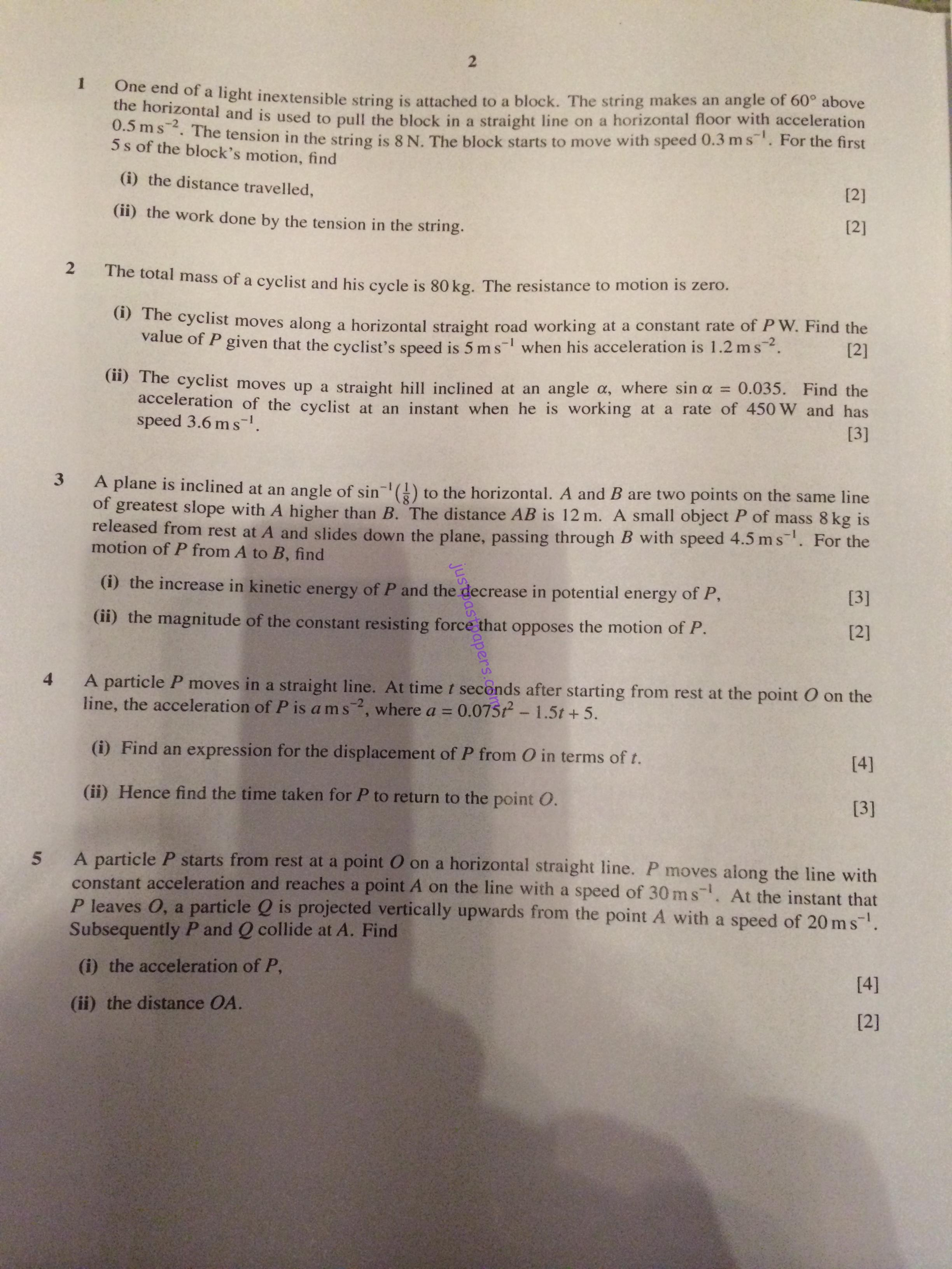 13 fslce mathematics qp 9709_s16_qp_13 leave a reply cancel reply your email address will not be published required fields are marked cie as & a level – pure mathematics (9709).