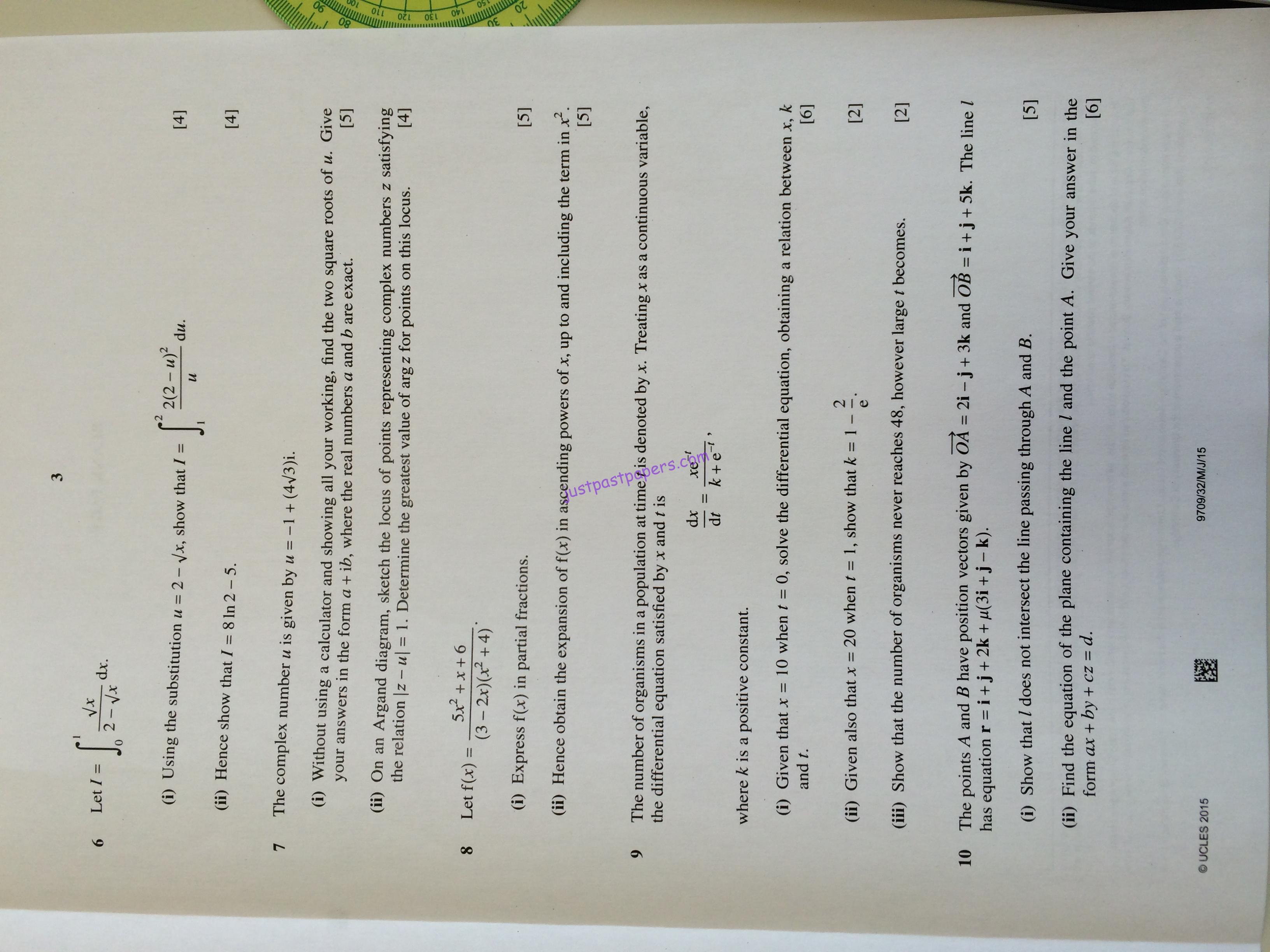 mathematics paper 3