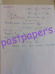 CIE – 9709 Pure Mathematics 1, AS Level, Paper 12, May/June 2016 – Solution 6