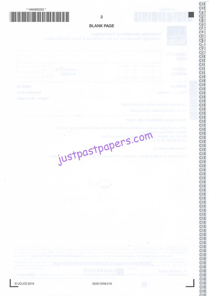 Past hsc english papers 2009