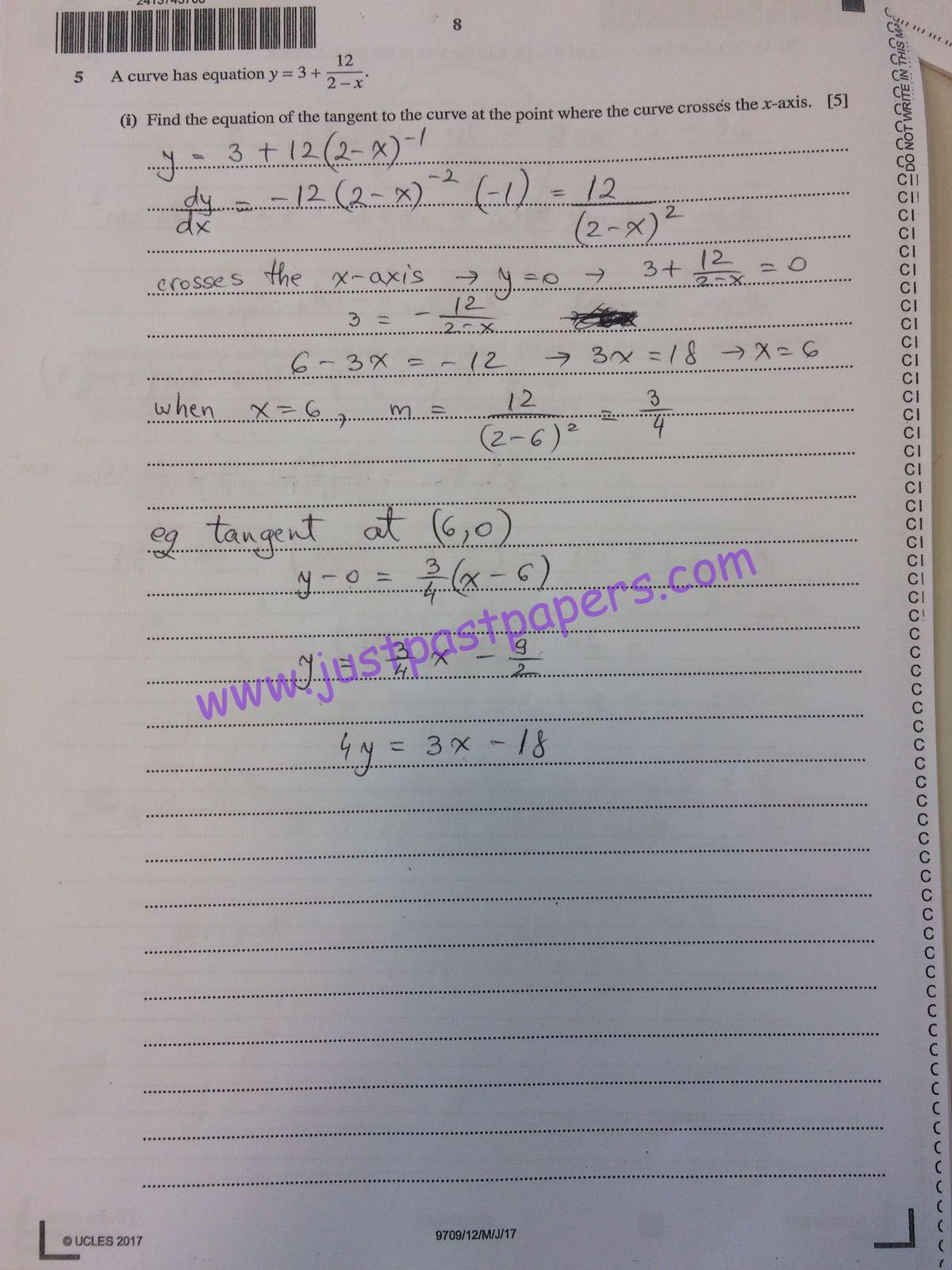 maths paper 1 : march and may june 2017 maths past papers of cie igcse are available 17/1/2017: october/november 2017 igcse maths grade thresholds, syllabus and past exam papers are updated 16/08/2018 : igcse mathematics 2018 past papers of march and may are updated click on the session for which you want the material of mathematics 0580.